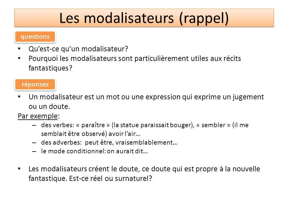 La modalisation - L'EXAMEN NORMALISÉ (Collège & lycée)