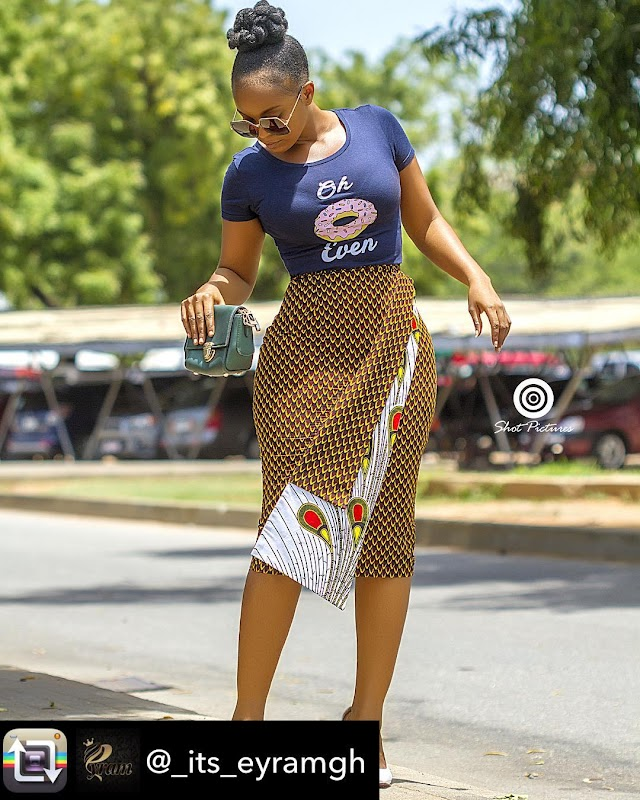 Ladies check out this african attire and style