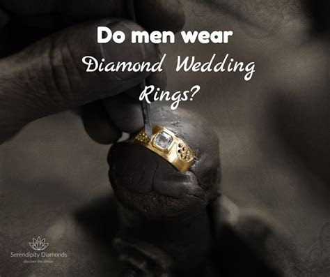 men wear diamond wedding rings  guys wear diamond rings
