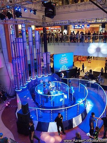Cadbury musical creamy choclate fountain in SM Megamall