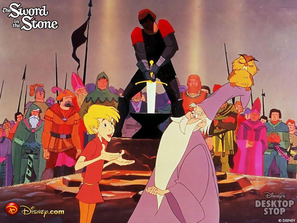 The Sword In The Stone King Arthur Wallpaper 997970 Fanpop