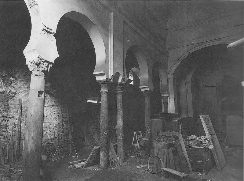 Restauración de la Iglesia de Santa Eulalia de Toledo entre 1966 y 1970