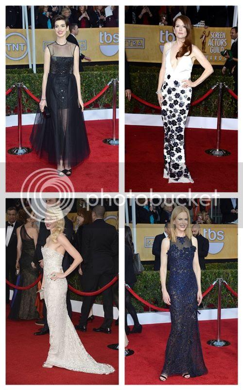 2013 SAG Awards Red Carpet Fashion Style