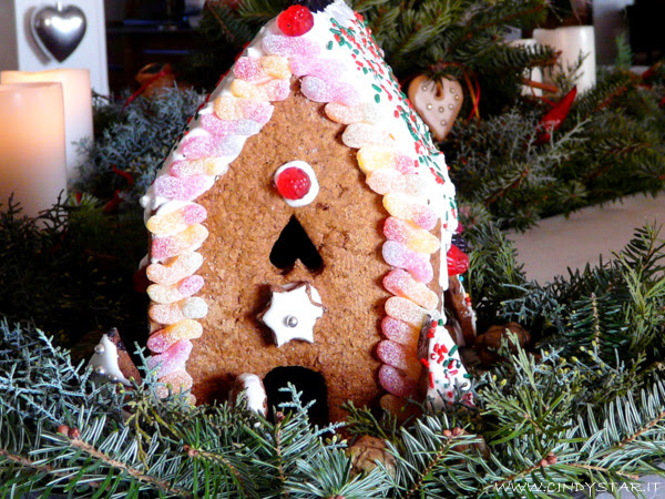 casetta panpepato - gingerbread house