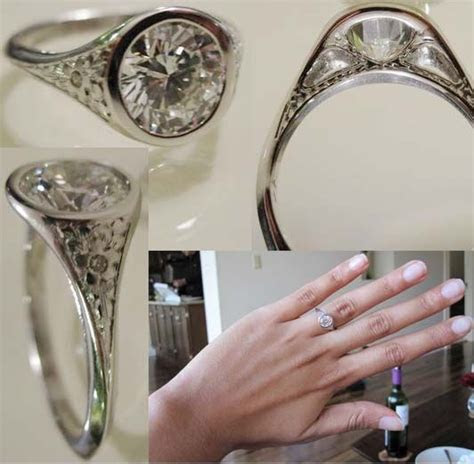 Best 25  Bezel set ring ideas on Pinterest   Bezel ring