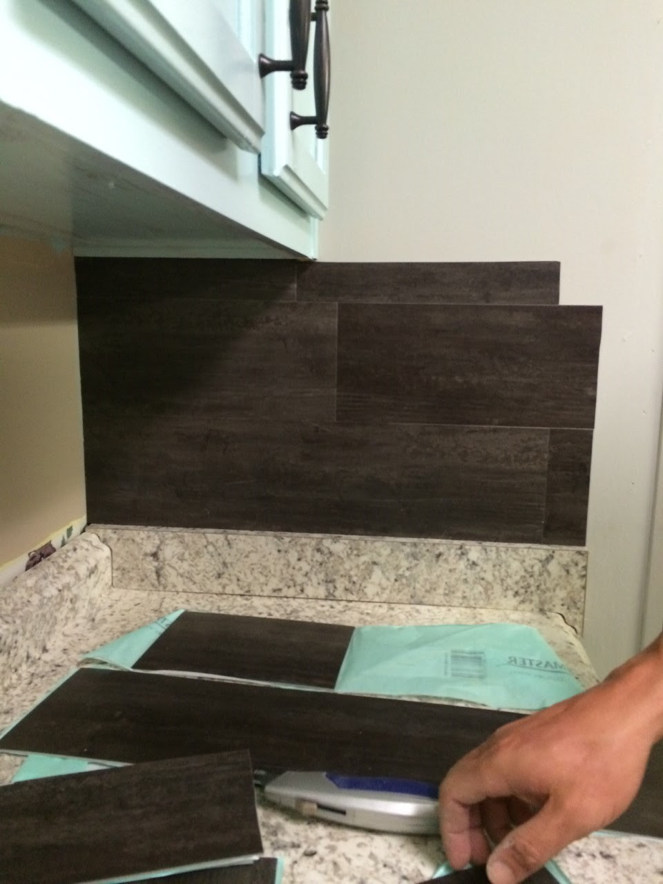 Our 40 Backsplash Re Fabbed