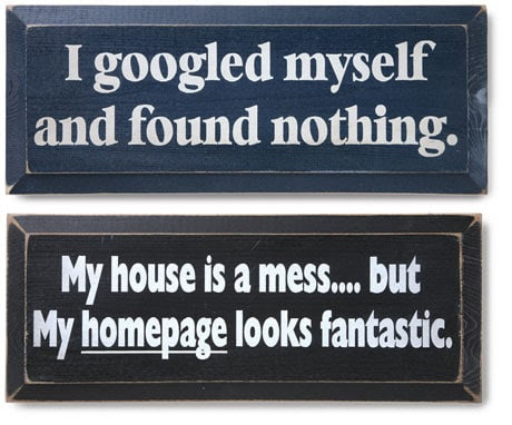 Off-The-Wall Online Wall Plaques