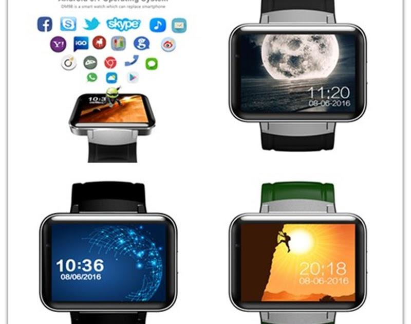 Phone dm98 3g smartwatch - 3g wifi dz09 sim card smart