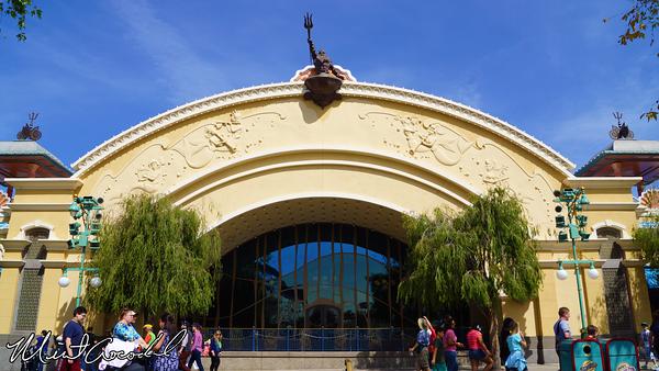 Disneyland Resort, Disney California Adventure, Little Mermaid, Ariel's Undersea Adventure, Refurbishment, Refurb