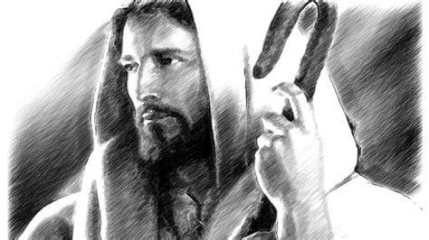 amazing jesus christ sketch art  wouldnt