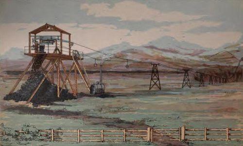 Ropeway steam power