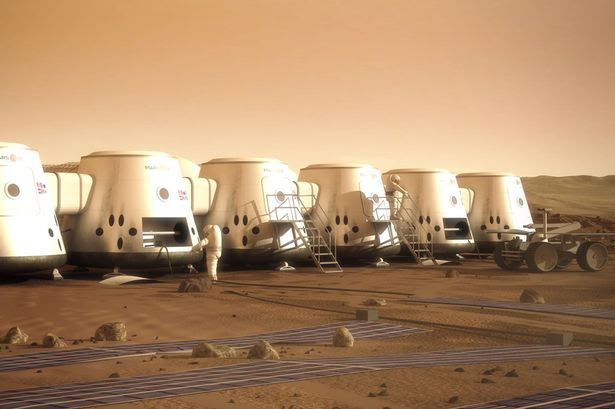 mars one mission