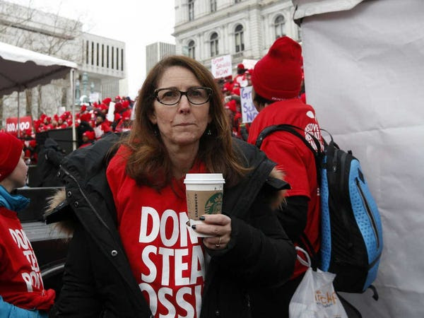 Eva Moskowitz Success Academy Charter Schools Rally