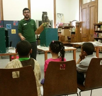 Learning about Owls, Ferrets and Creatures of the Night at NYPL