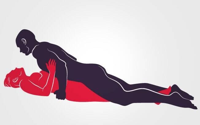 2. POUSO RELAXADO: Ela deita com as pernas bem fechadas, ele vem por cima e massageia o pênis roçando no corpo dela . Foto: Renato Munhoz (Arte iG)