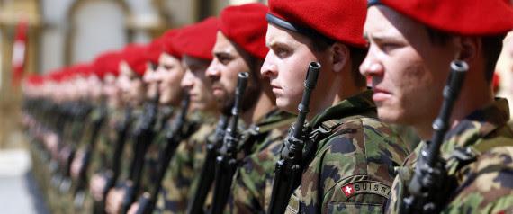 SWITZERLAND SOLDIER
