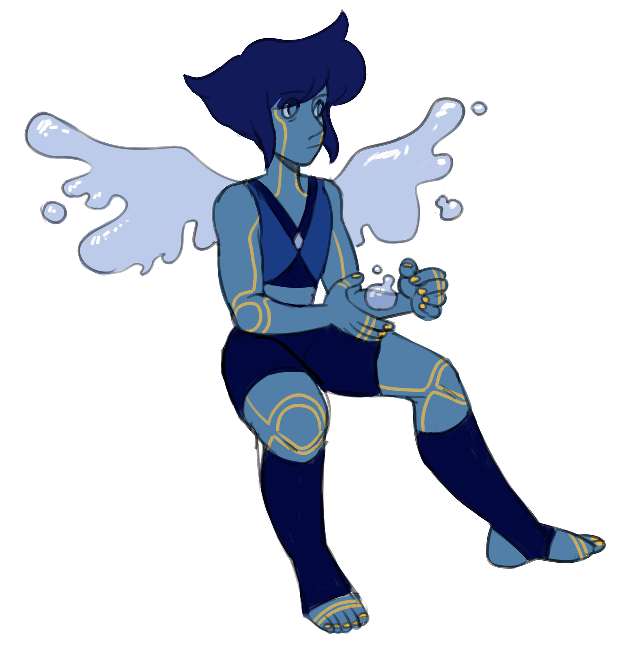 wanted to try my hand at a lapis redesign