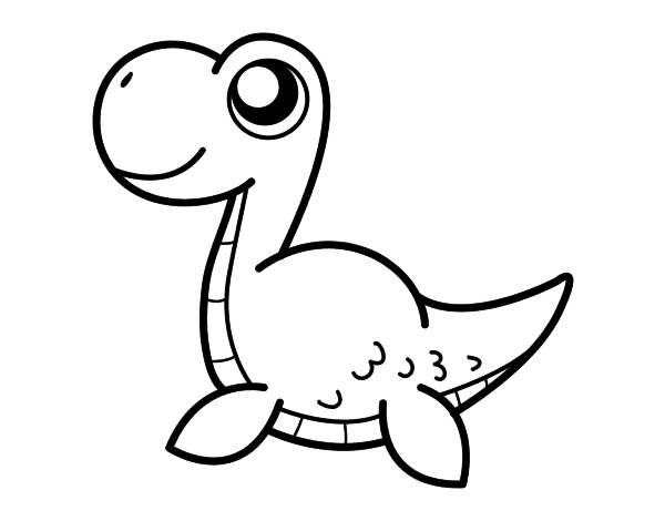 Loch Ness Monster Coloring Book Coloring Pages