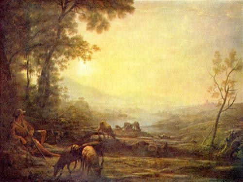 Shepherd - Claude Lorrain