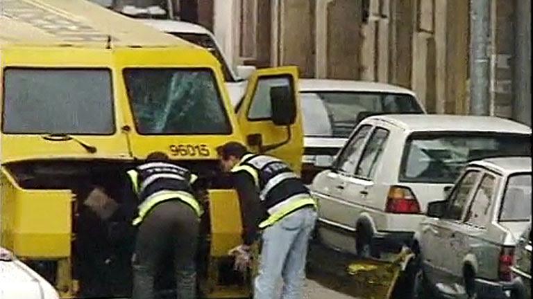 Joyas y millones de euros se transportan a diario en furgones blindados