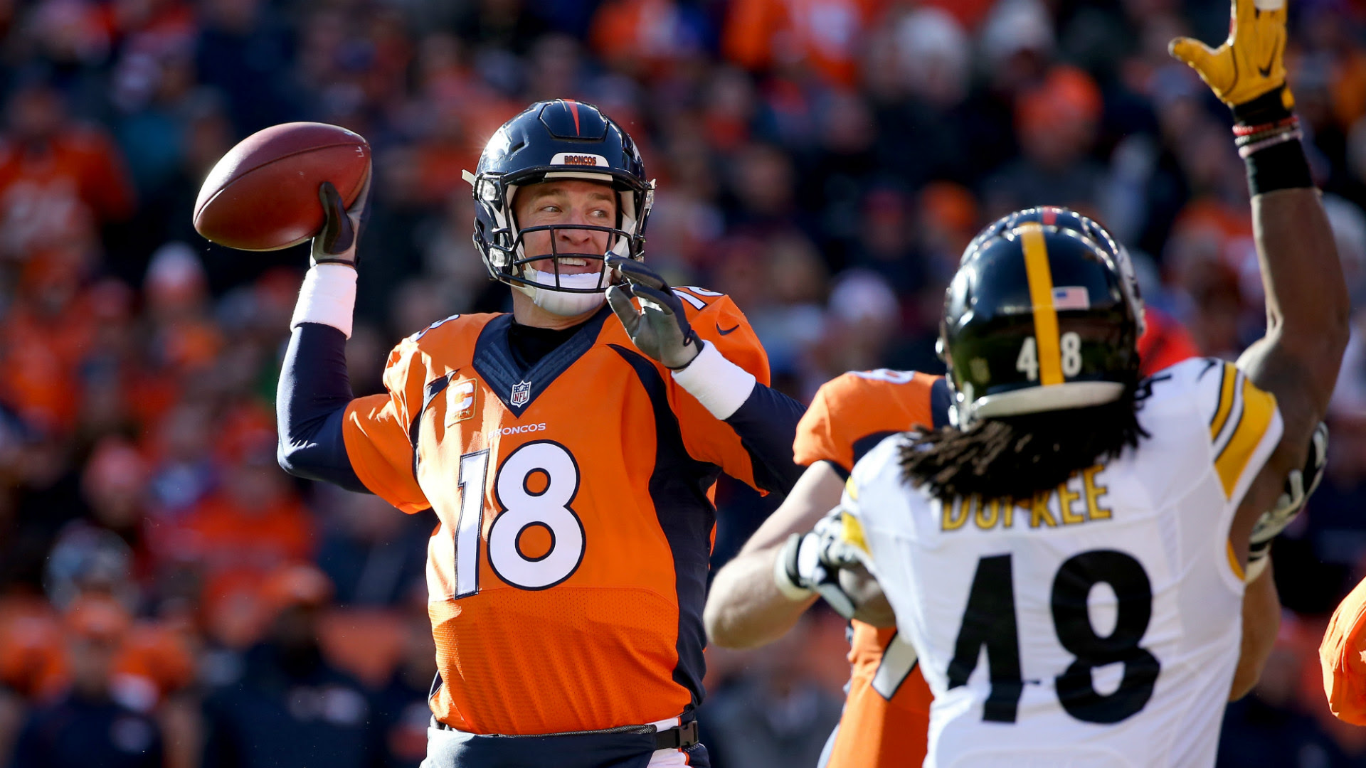 Broncos wear down undermanned Steelers, advance to AFC title game  NFL  Sporting News