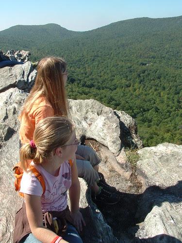 Atop Hanging Rock