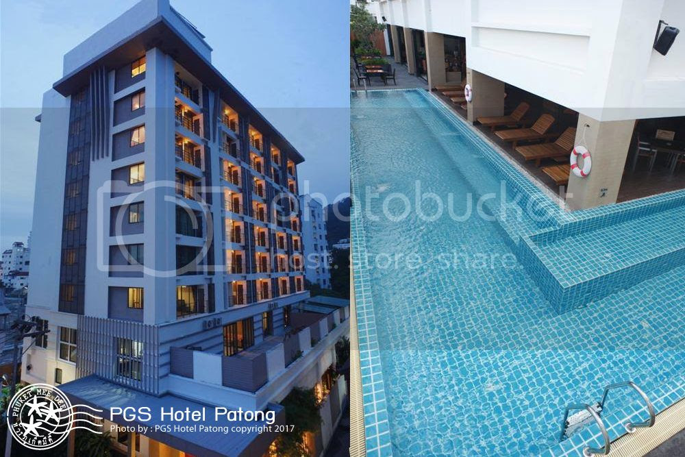 PGS HOTELS PATONG is located in the heart of Patong Beach, Phuket, Thailand.