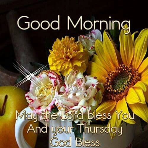 Good Morning Image Thursday God Archidev