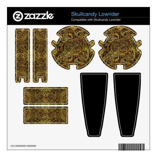 Wicca Rustica: Celtic Dream Skullcandy Lowrider Skins from Zazzle.