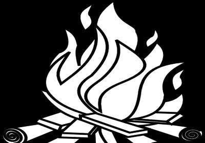 Mewarnai Gambar Api Unggun