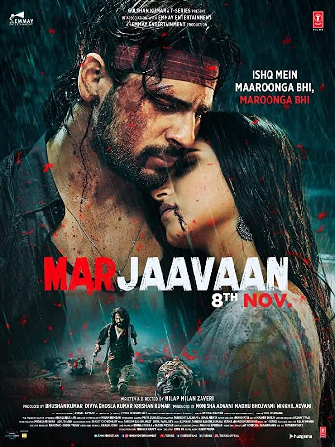 Marjaavaan (2019) Hindi Full Bollywood Movie 720p PreDVDRip x264 AAC [1.2GB] Download