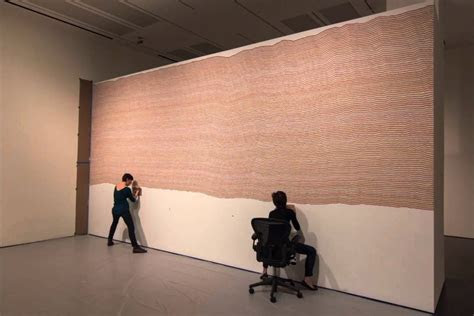 time lapse  sol lewitts wall drawing  blanton