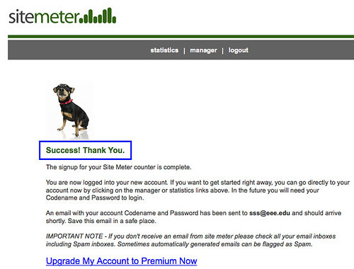 sitemeter註冊畫面 4