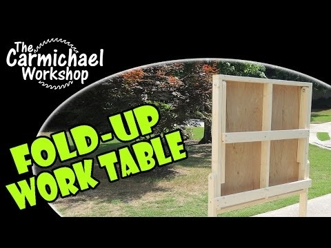 Make a Fold-Up Work Table