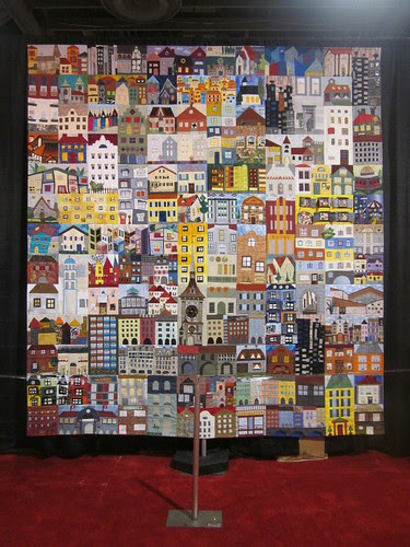 """Berne House Quilt"", Bernese Quilters of Berne, Switzerland"