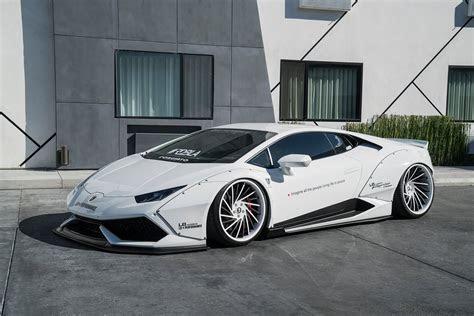 White Liberty Walk Lamborghini Huracan on Forgiato Wheels GTspirit