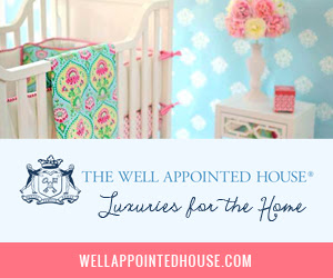 Shop The Well Appointed House!  Luxuries for the Home