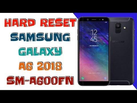 HARD RESET SAMSUNG GALAXY A6 2018 / FORGOT PASSWORD SM