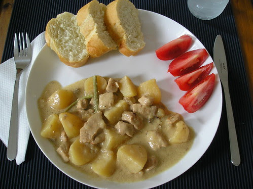 Porc et PommesTerre Dijon (mijoteuse)