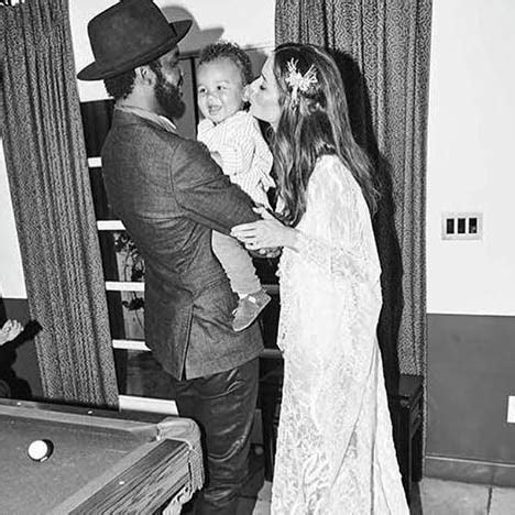 Coachella wedding weekend: model Nicole Trunfio marries