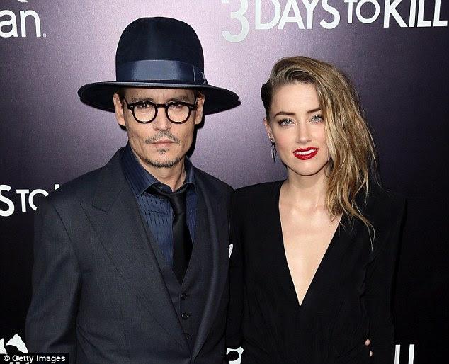 Johnny Depp e Amber Heard chegaram a um acordo em seu divórcio última segunda-feira