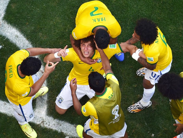 Brasil x Chile - David Luiz  (Foto: Getty Images)