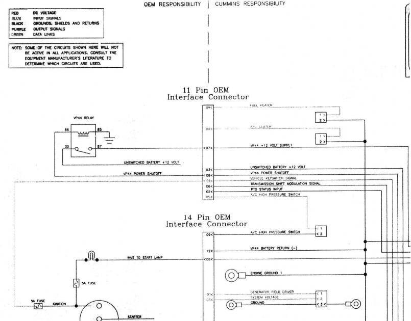 1999 Dodge Diesel Ignition Wiring Diagram