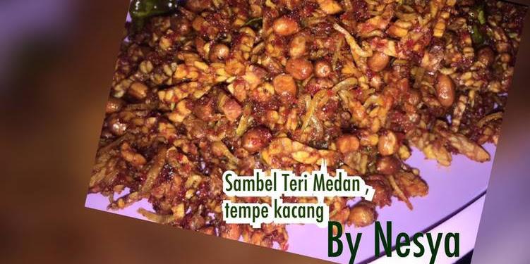 Resep Sambel Teri Medan, Tempe, Kacang Oleh Nesya Septya