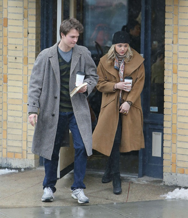 Chloe Moretz: Set of November Criminals -12