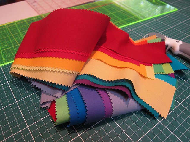 Line Art Quilt - process