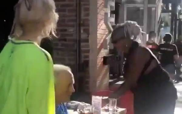 F*ck White People!' – BLM-Biden Supporters Scream at Elderly Couple Dining  Outdoors in Pittsburgh, Steal Their Drinks Off Table (VIDEO) - STATIONGOSSIP