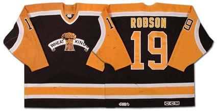 Brandon Wheat Kings 97-98 jersey