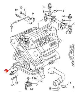 2005 Audi A4 Oil Pressure Sensor Location - Car Audi