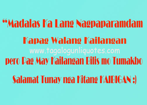 quotes quotes about friendship tagalog quotesgram